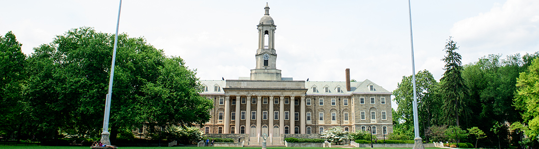 Old Main on the University Park campus.